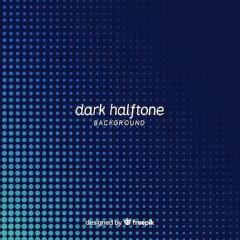 Fondo de halftone oscuro