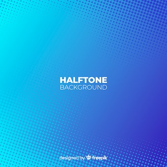 Fondo halftone