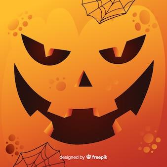 Fondo de halloween de calabaza