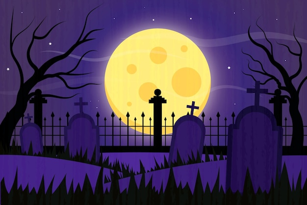Fondo de halloween grunge