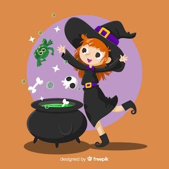 Fondo halloween poción