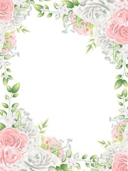 Fondo de hermosas flores coloridas