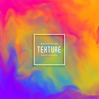 Fondo hermoso colorido abstracto acuarela