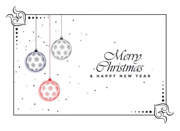 Fondo hermoso decorativo de la feliz navidad