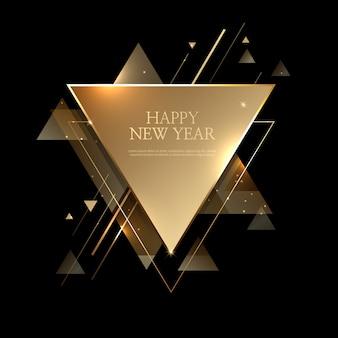 Fondo hermoso feliz año nuevo