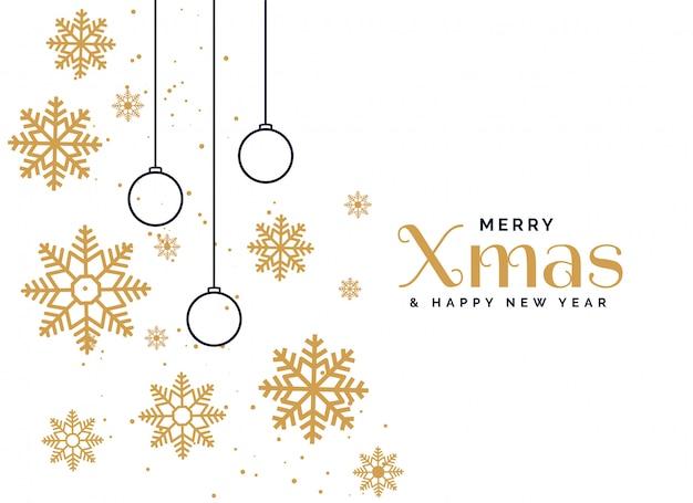 Fondo hermoso del saludo de la feliz navidad
