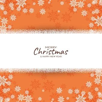 Fondo hermoso del saludo del festival de la feliz navidad