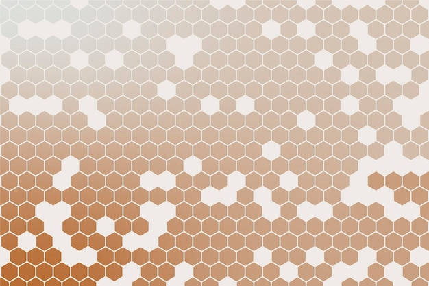 Fondo hexagonal degradado