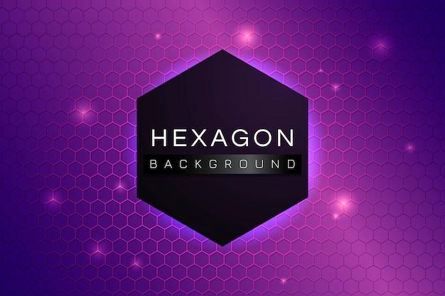 Fondo de hexágono estampado