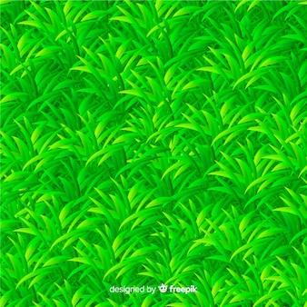 Fondo de hierba verde estilo realista
