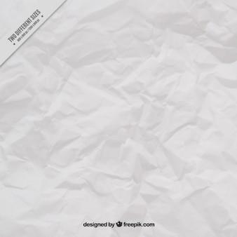 Fondo de hoja arrugada en color blanco