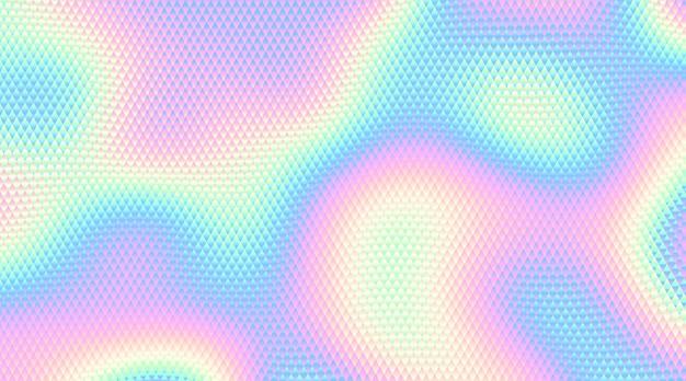 Fondo holográfico abstracto