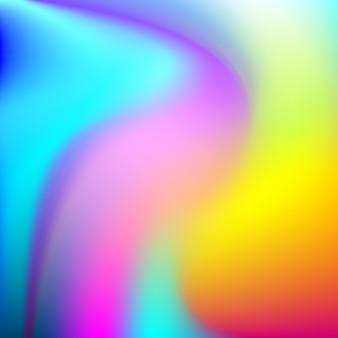 Fondo holográfico colorido