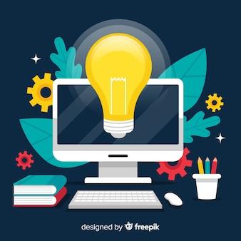 Fondo idea diseño gráfico