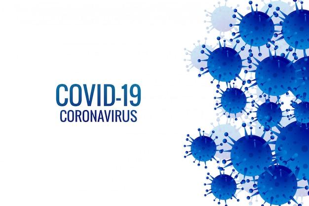 Fondo de infección de virus o gripe de bacterias
