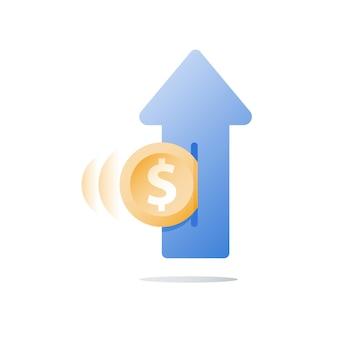 Fondo de inversión financiera, aumento de ingresos, crecimiento de ingresos, plan presupuestario, retorno de la inversión, estrategia a largo plazo, gestión de patrimonio, más dinero, alto interés, ahorro de pensiones, concepto de jubilación