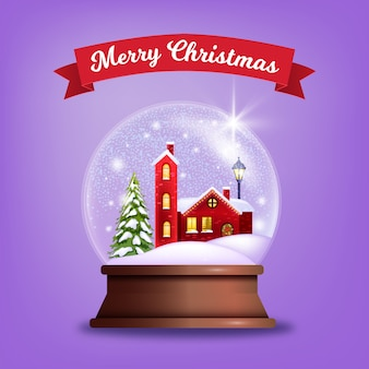 Fondo de invierno de navidad y feliz año nuevo con cajas de regalo, ramas de abeto, estrellas, poinsettia. ilustración estacional de vacaciones de navidad con marco floral de hoja perenne. fondo de publicidad navideña