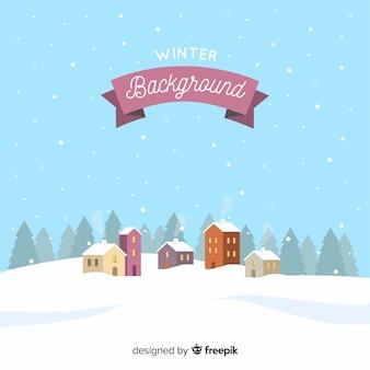 Fondo de invierno