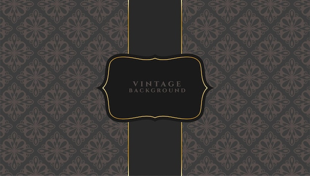 Fondo de invitación de estilo de textura floral vintage