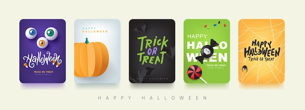 Fondo de invitación de fiesta o banner de feliz halloween