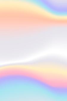 Fondo iridiscente colorido abstracto