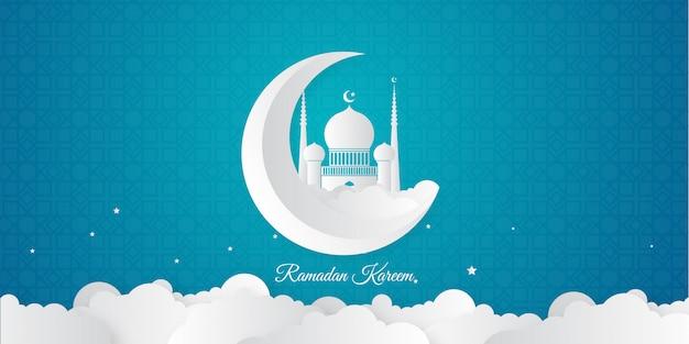 Fondo islámico de ramadán kareem