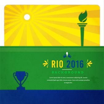Fondo de juegos olímpicos en río