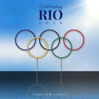 Fondo de los juegos olímpicos de rio