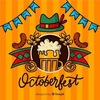 Fondo de letras oktoberfest