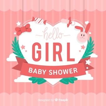 Fondo lindo de baby shower