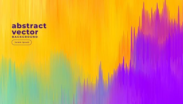 Fondo de líneas abstractas de colores