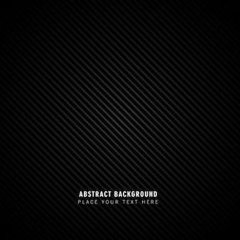 Fondo de líneas abstractas negras