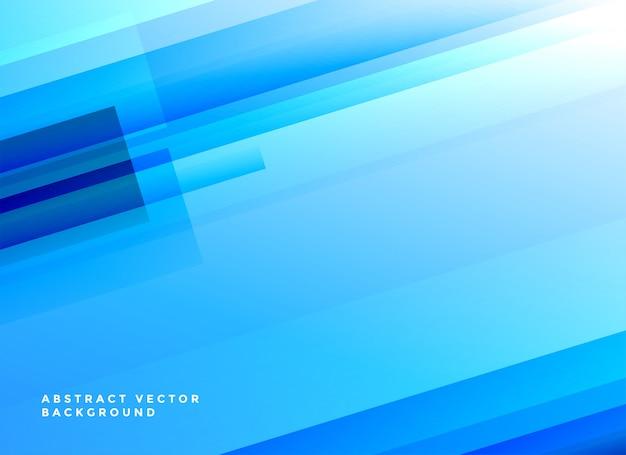 Fondo de líneas brillantes azul resumen