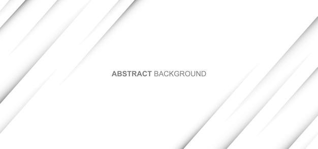 Fondo de líneas dinámicas blancas abstractas minimalistas. ilustración vectorial.