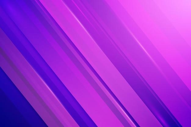 Fondo de líneas dinámicas degradado púrpura