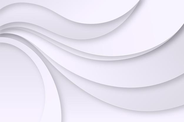 Fondo de líneas monocromáticas blancas