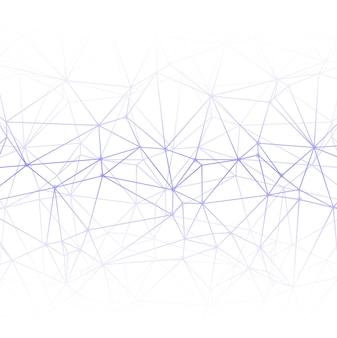 Fondo de líneas poligonales