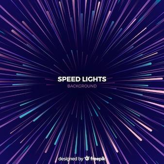 Fondo con líneas de velocidad