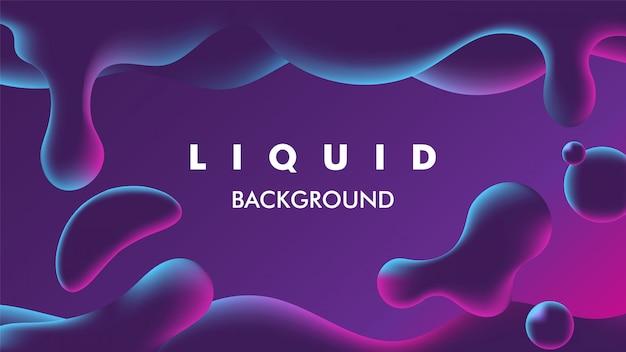 Fondo líquido de color