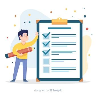 Lista de productos o servicios