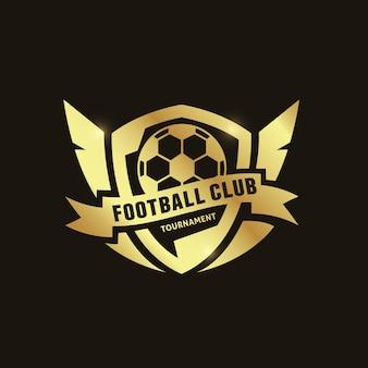 Fondo con logo de fútbol