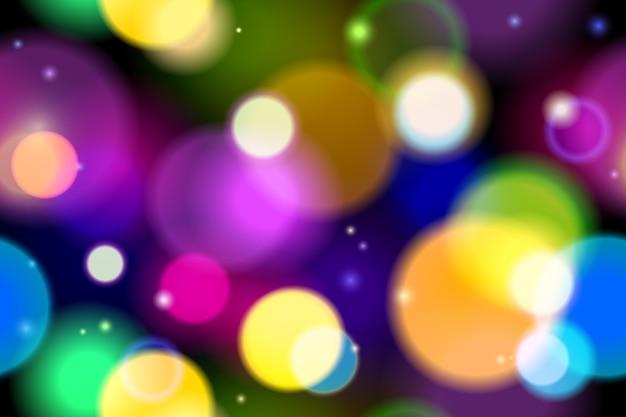 Fondo de luces abstractas ilustración vectorial