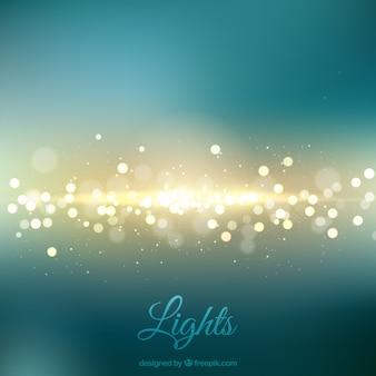 Fondo de luces borrosas