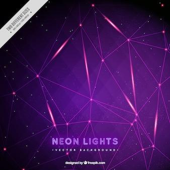 Fondo de luces de neón