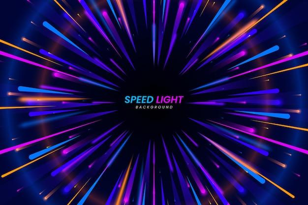 Fondo de luces de velocidad