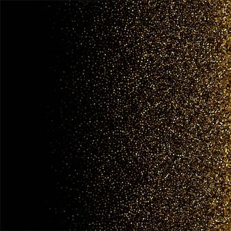 Fondo de lujo con fondo de partículas doradas