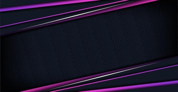 Fondo de lujo con formas abstractas púrpuras