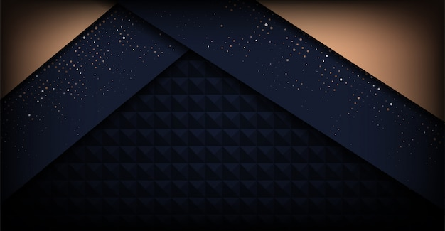 Fondo de lujo minimalista oscuro moderno