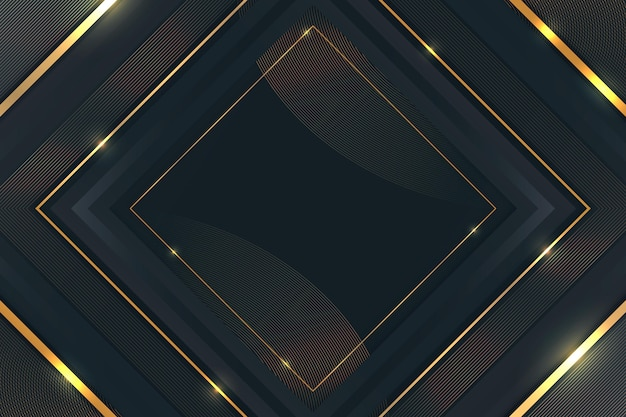 Fondo lujoso de detalles dorados degradados