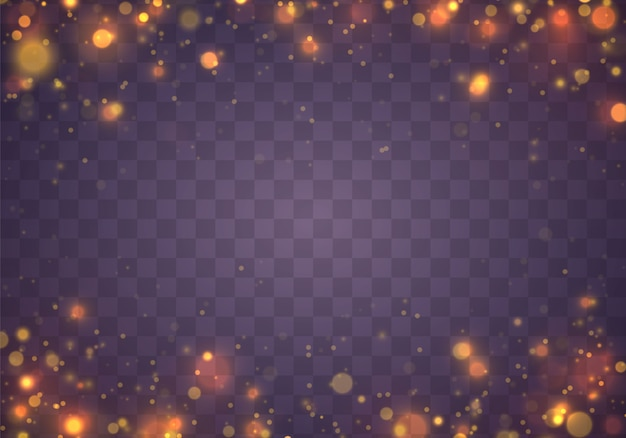 Fondo luminoso festivo de navidad púrpura y dorado.